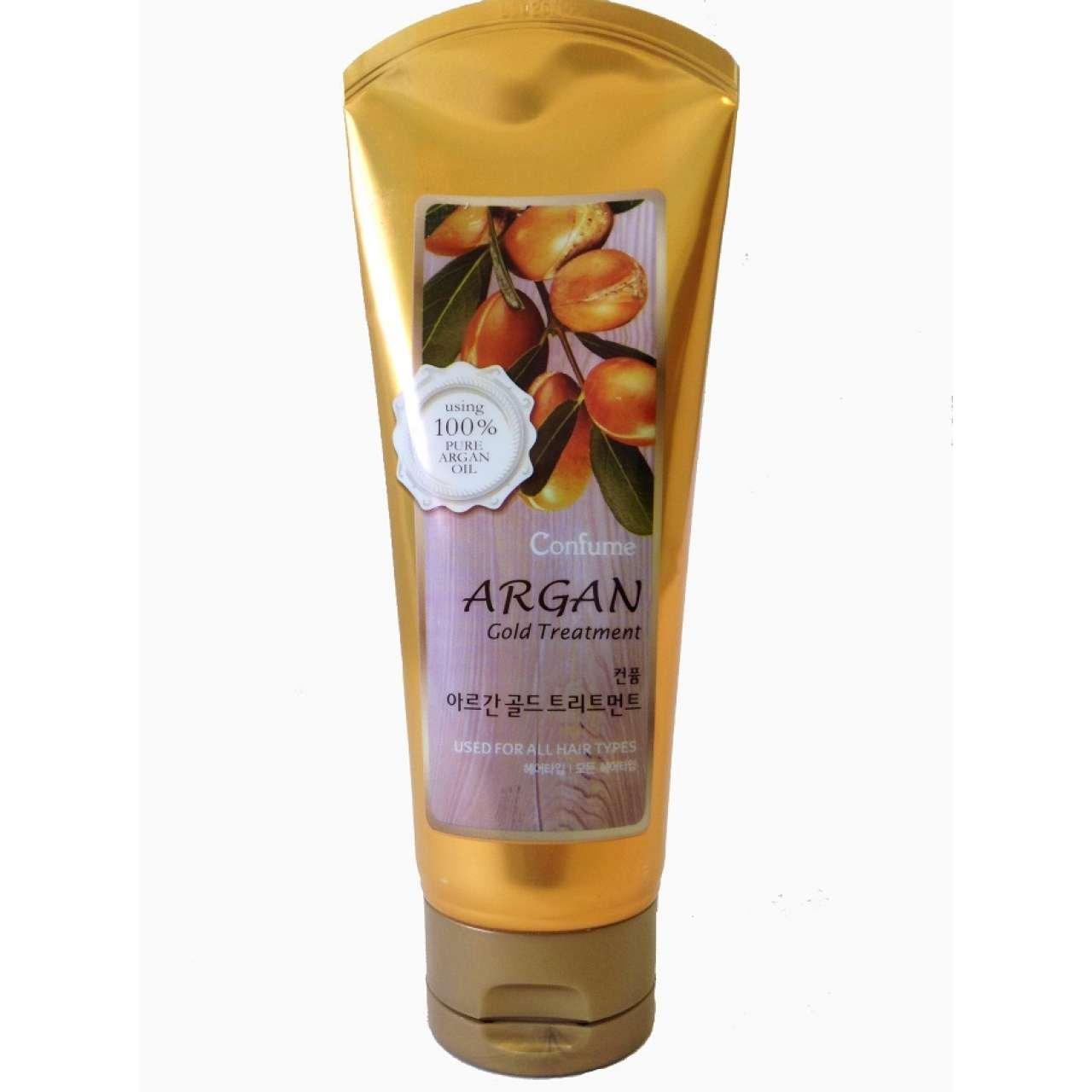 Confume Gold Маска для волос с аргановым маслом
