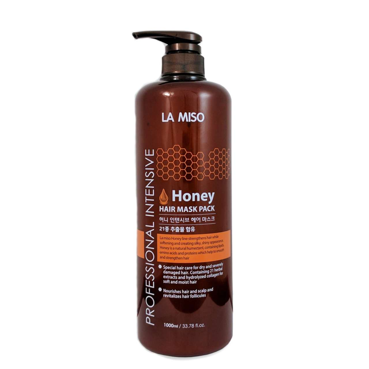 LA MISO Professional Intensive Honey Маска для волос