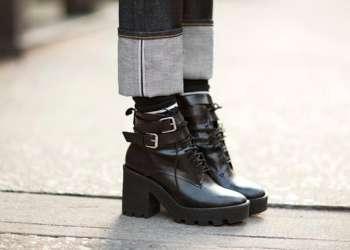 Вещь дня: грубые ботинки!
